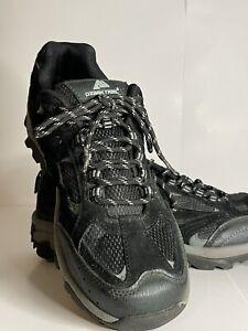 Ozark Trail Men's Vented Low Hiking Shoes, black , Size 9