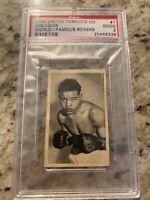 1935 United Tobacco Joe Louis Rookie Card Boxing Great HOF PSA 2 Rare