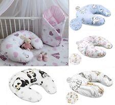 Stillkissen mit abnehmbarem Bezug 155 cm Baby Stillen Lagerungskissen Baumwolle