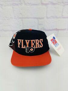 NWT Vintage NHL Philadelphia Flyers Sports Specialties Laser 90s Snapback Hat