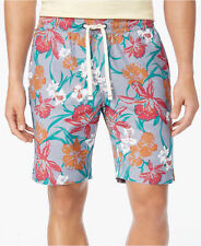 "New Mens Tommy Hilfiger 7"" Mitch Floral Print Drawstring Cotton Shorts L"