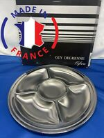 Guy Degrenne 5 Section Dish Hors-D'oeuvre Tray French Stainless Normandie France