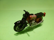 LESNEY MATCHBOX 8 HONDA HONDARORA MOTOR CYCLE - 1:32? - FAIR CONDITION