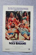 Nice Dreams Cheech and Chong Lobby Card Movie Poster