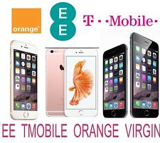 Unlock Service FOR Apple iPhone 8 / Apple iPhone 8 Plus EE T-MOBILE ORANGE UK