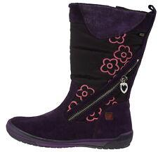 502708-33 Agatha Ruiz De La Prada ar10 Wildleder Winterstiefel lila pink EUR 33