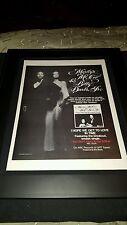 Marylin McCoo Billy Davis, Jr. Rare Original Promo Poster Ad Framed!