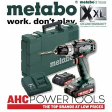 Metabo SB 18 L 2-SPEED 18 V Trapano Combi Inc 2x 2.0Ah le batterie in valigetta