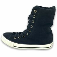 Converse Chuck Taylor All Star Womens Shirling X Sneaker Shoes Black 553420C 6 M