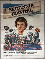 Plakat Britannia Hospital Lindsay Anderson - Malcolm Mcdowell