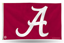 Alabama Crimson Tide Authentic 3x5 Indoor/Outdoor Flag Banner NCAA Hologram