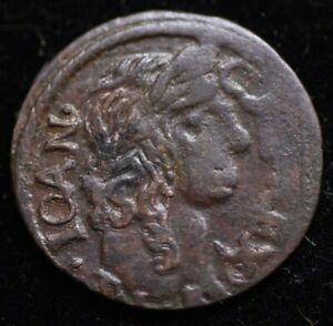 1661 ION CASIMIR POLAND CROWN SOLIDUS SCHILLING COIN - HIGH GRADE