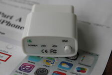 HHOBD H580 Bluetooth 4.0 OBD2 Scan Tool with Power Switch  For iPhone/Android