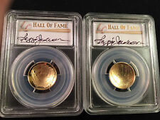 2014-W PCGS HOF Baseball Gold PR70 MS70 Set First Strike FS Reggie Jackson OGP