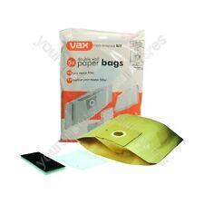 Genuine Vax Paper Bags & Filters