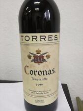 Torres Coronas Catalunya tempranillo 13 %  - 75 cl wine vino 1999