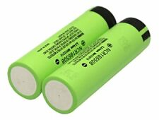 Panasonic Batterie 2x Ncr18650b 3.7v 3400mah Boîte 401023