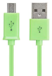 10x Micro-USB Ladekabel für samsung Galaxy S5 S6 S7 S7 Edge HTC Huawei grün