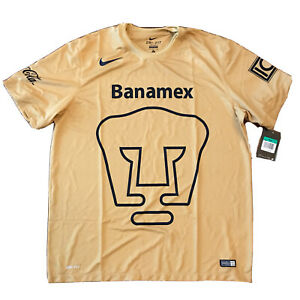 2014/15 Unam Pumas Home Jersey XL Nike Club Universidad Nacional LigaMX NEW