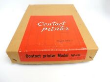 Vintage Contact Printer Model Np-Cii for 8X10 Large Format with Box, Japan