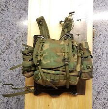 1/6 Scale camouf Green Army Backpack / Rucksack Dragon Models for 12 inch figure