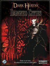 2009 Warhammer 40K RPG: Dark Heresy Damned Cities Hardcover