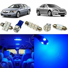 16x Blue LED lights interior package kit for 2005-2012 Acura RL +Tool AR4B