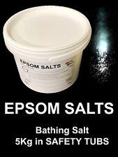 Epsom Salz 5KG Täschen Pharmazeutische Flocken Magnesiumsulfat