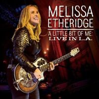 MELISSA ETHERIDGE - A LITTLE BIT OF ME: LIVE IN L.A  CD + DVD NEW+