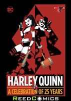 HARLEY QUINN A CELEBRATION OF 25 YEARS HARDCOVER (400 Pages) New Hardback