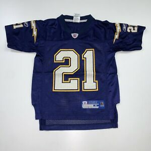 Boys Reebok San Diego Chargers Ladainian Tomlinson Jersey Size Youth Small Blue