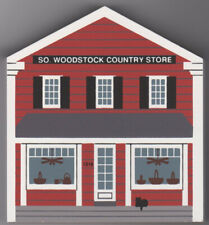 "Cat's Meow Village Retired ""Woodstock Country Store Vt"" General Store Series.New"