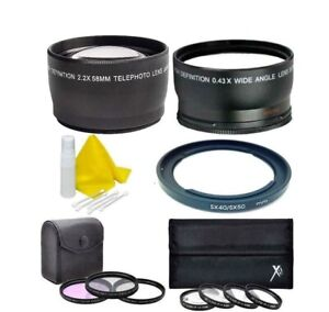 Lens Filter Kit for Canon PowerShot SX540 SX530 SX520 SX70 SX60 SX50 SX40 SX30