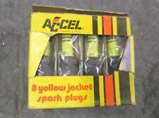 Vintage NOS Accel Spark Plugs Set of 8 241172 Period Correct Hot Rod Mancave Art