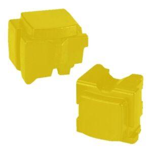 Xerox 8570 / 8580 Compatible Yellow ColorQube 8570 Ink (2 Sticks) 108R00933