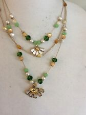 Betsey Johnson  FLOWER CHILD DAISY  NECKLACE Illusion $48 Q-9A
