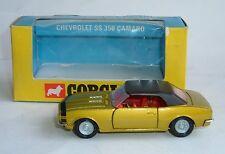 Corgi Toys No 338, Chevrolet SS 350 Camaro, - Superbe Comme neuf.