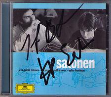 Esa-Pekka SALONEN, Yefim BRONFMAN Sginiert Piano Concerto Helix Dichotomie DG CD
