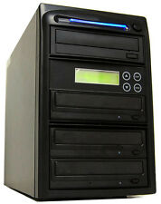 3 Burner 24x CD DVD Disc Duplicator Copier Replication Duplication Device System