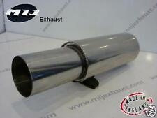 """Universel 4"""" Jap Style Performance Back Box 3"""" Inlet exhaust Sports muffler"""