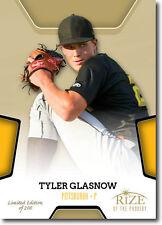 2013 Rize Draft Baseball Gold Rize of the Prodigy 9 Tyler Glasnow /200