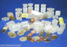 10 NEW CoinSafe Square Coin Tubes  Mix & Match Sizes