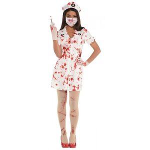 Bloody Nurse Kit Costume Halloween Fancy Dress