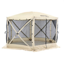 CLAM Quick-Set Escape 12 x 12 Ft Portable Camping Outdoor Gazebo Canopy Shelter