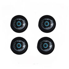 Easy People Longboards Speed Cruise wheel Set Solid Black with ,ABEC-7,Spacer