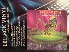 "Megadeath No More Mr Nice Guy 12"" Single 12SBK4 Rock (No Poster) 80's 'Shocker'"