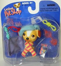 Littlest Pet Shop Target exclusive retired jack russell terrier w/ beret bag +