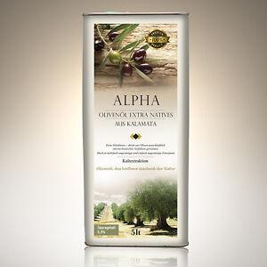 Natives Olivenöl Extra 5 liter Kanister ALPHA, Erste Kaltpressung