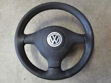 Lederlenkrad Airbag Sportlenkrad Lenkrad VW Golf 4 Passat 3B 3BG 1J0419091P