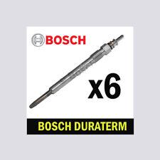 6x bosch bougies de préchauffage pour bmw E92 3.0 choix 2/2 325d 330d 330xd 335d M57